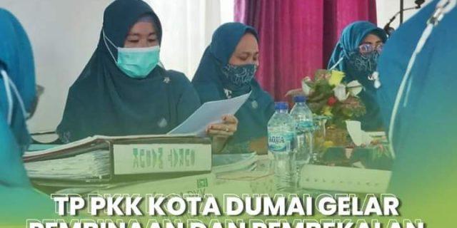TP PKK Kota Dumai Menggelar Pembinaan dan Pembekalan Bagi Pengurus TP PKK di Seluruh Kecamatan Dan Kelurahan Kota Dumai