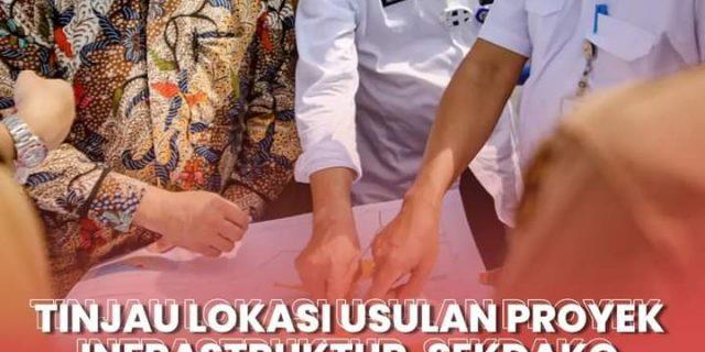Tinjau Lokasi Usulan Proyek Infrastruktur, Sekdako Dumai Sambut Kedatangan Sekretaris Bappenas dan Gubri di Kota Dumai