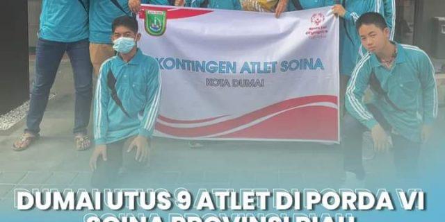 Dumai Utus 9 Atlet di Porda VI Soina Provinsi Riau