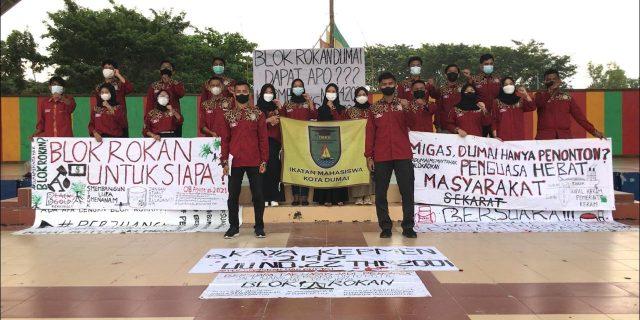 Pernyataan Sikap dan Tuntutan alih kelola blok rokan IMKD Pekanbaru kepada Menteri ESDM RI,Gubernur Riau dan Walikota Dumai