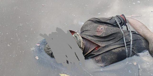Penemuan mayat Pria, Mengambang di Sungai Dumai