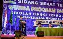 Wali Kota Dumai, H. Paisal Menghadiri Sidang Senat Terbuka Wisuda Program Sarjana XIII Sekolah Teknologi (STT) Dumai