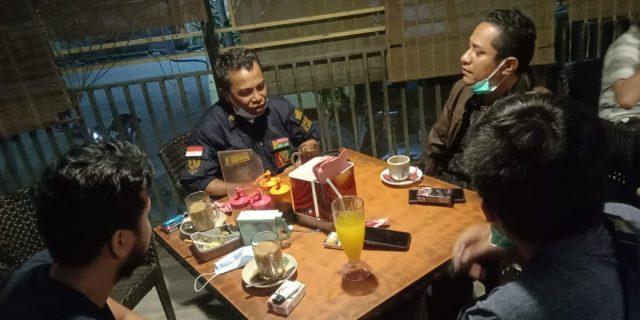 Koordinasi Dit Intelkam Polda Riau Bersama Ketua LHMR Kota Dumai