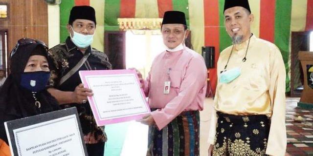 Silaturahmi Walikota Dumai Menjelang Bulan Suci Ramadhan Dengan Petugas Kebersihan kota Dumai