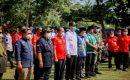 Usai Kunjungan Ke Pantai Marina Rombongan Manteri KLH RI, Sambangi Kantor Daops Manggala Agni Sumatera V