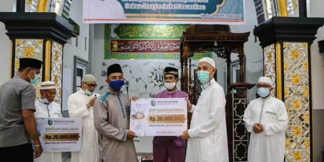 Safari Ramadhan Perdana, Wali kota Kunjungi Masjid Al Barkah