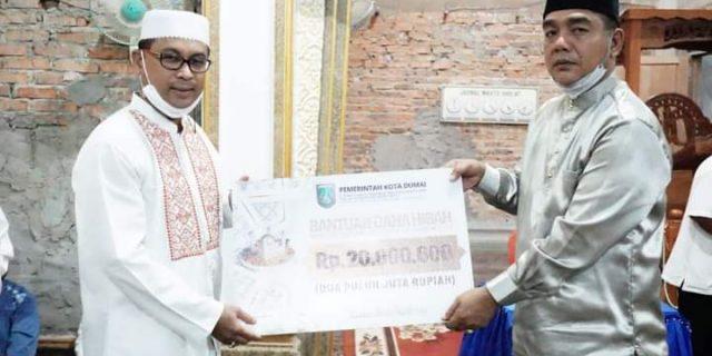 Safari Ramadhan Ketiga, Pemko Dumai Kunjungi Masjid Al Jihad