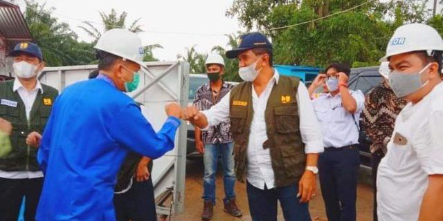 Asisren II Setdako Dumai, Terima Kunjungan Direktur Air Minum Ditjen Cipta Karya Kementrian PUPR Yudha Mediawan Beserta Rombongan di Kota Dumai