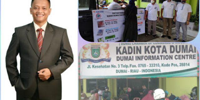 Jelang Lebaran Idul Fitri, Kadin Kota Dumai Adakan Pasar Murah