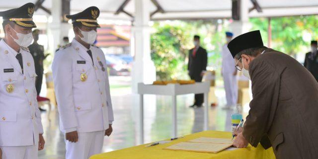 Gubernur Riau Lantik Bupati Rokan Hilir