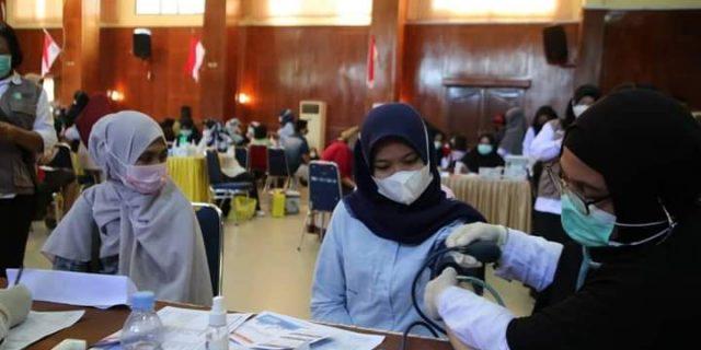 Pemerintah Kota Dumai Terus Menggalakkan Upaya Penyebaran Covid-19, Dengan Menggelar Vaksinasi Massal Tahap ke II