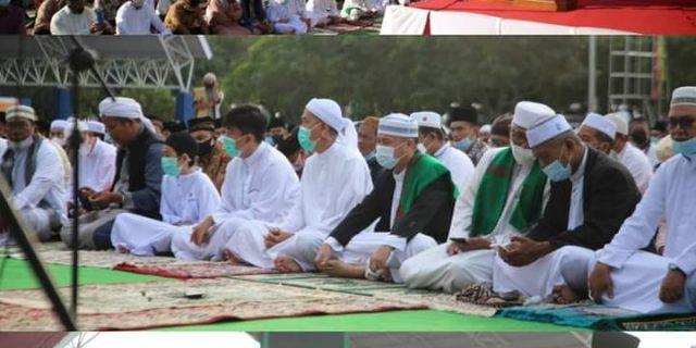 "Hadiri Shalat Idul Adha Bersama 1442 H, Walikota Dumai: ""Tunjukkan Solidaritas di Masa Pandemi"""