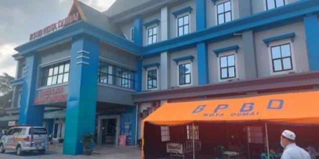Pasien Covid-19 Melonjak, RSUD Kota Dumai Dirikan Tenda Darurat