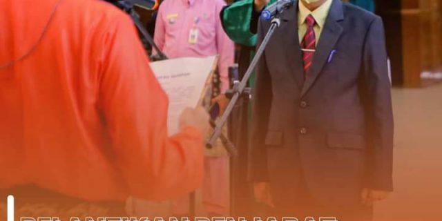 Pelantikan Penjabat Sekretaris Daerah oleh Walikota Dumai