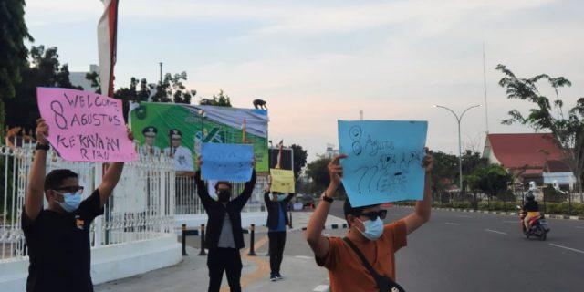 Aliansi Pemuda dan Mahasiswa Riau : Sebelum Transisi Blok Rokan, Dana Bagi Hasil Untuk Dumai Harus Jelas!