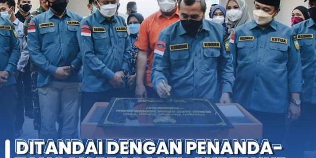 Ditandai Dengan Penandatangan Prasasti, Gubernur Riau Dan Walikota Dumai Resmikan Rumah Sakit Graha Yasmin
