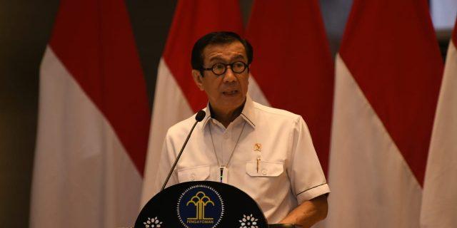 """DALAM RANGKA MEMPERINGATI HARI DHARMA KARYA DHIKA 2021 """"KEMENTERIAN HUKUM DAN HAM DUKUNG AKSELERASI INDONESIA SEHAT DAN PEMULIHAN EKONOMI NASIONAL"""""""